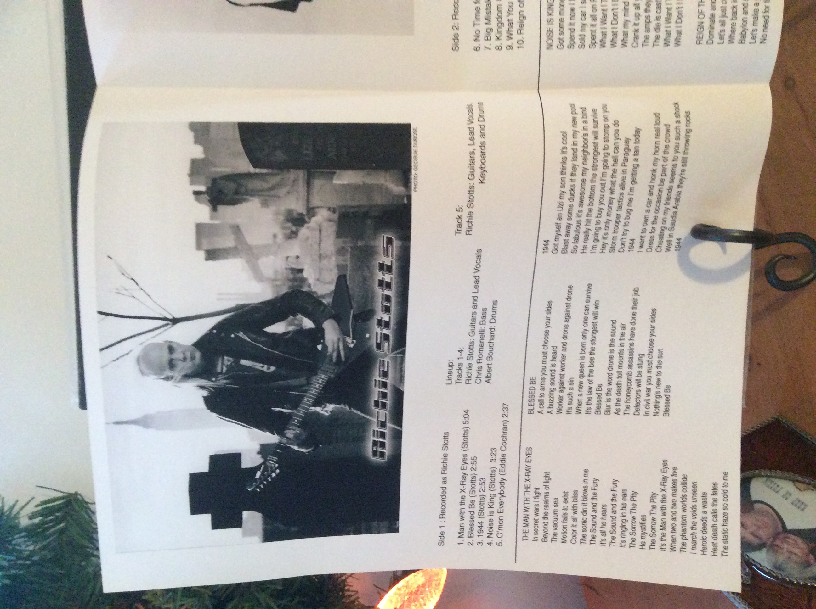 Richie Stotts Richie Stotts Limited Edition 100 Copies